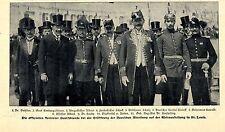 Die offiziellen deutschen Vertreter d.Weltausstellung St.Louis Bilddokument 1904