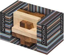Lagoon GAMES confusion squarrel Puzzle mentale bloc fun cadeau bureau en bois puzzles
