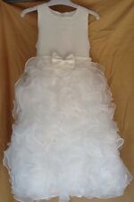 Authentic TIP TOP Ivory Flower Girl/Pageant/Holiday/Recital/Dress-Orig. $100