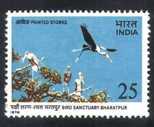 India 1976 Storks/Birds/Nature Reserve/Conservation/Environment 1v (n39320)
