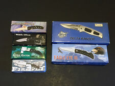 Mixed Lot Of Knives Included Frost Cutlery, Barracuda & Whitetail Cutlery