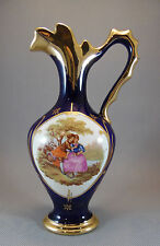 Ancien petit vase soliflore porcelaine carafe art pop french antique pottery