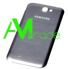SCOCCA posteriore per Samsung N7100 GREY BACK cover copri batteria Galaxy NOTE 2