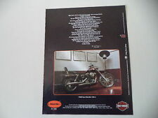 advertising Pubblicità 1993 MOTO HARLEY DAVIDSON FXDWG DYNA WIDE GLIDE 1340
