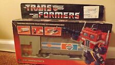 TRANSFORMERS ORIGINAL G1 PEPSI OPTIMUS PRIME 1984 VINTAGE HASBRO VERY RARE