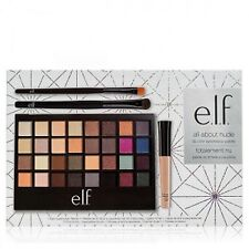e.l.f. all about nude 32 pc. Eyeshadow Palette with Primer & Brushes, NIB