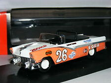 Quartzo 1003 Ford Fairlane 1956 NASCAR Convertible Curtis Turner 1/43