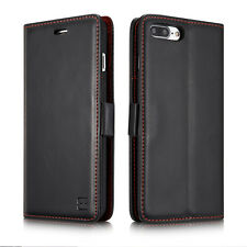 Luxury Genuine PU Leather Flip Wallet Card Case Cover For iPhone 6 6s 7 Plus New
