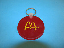 Vintage Old McDonald's Fast Food Restaurant Advertising Car Keychain Key Ring