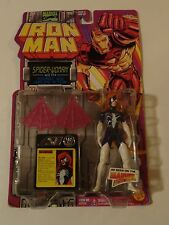 Collectible TOY Figurine ~*~ Marvel Comics IRON MAN Spider-Woman ~ 1994 Toy Biz