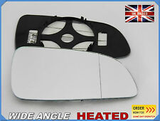 Wing Mirror Glass OPEL ASTRA H MK5 2004-2008 Wide Angle HEATED Right Side #F019