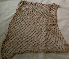 WWII US ARMY OR MARINE INFANTRY & AIRBORNE M1 HELMET NET-BROWN
