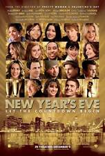 NEW YEAR'S EVE Movie Promo POSTER B Michelle Pfeiffer Zac Efron