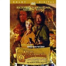 Allan Quatermain and the Lost City of Gold (1987) DVD (New & Sealed)