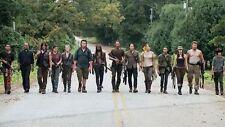 The Walking Dead - Season 6 SO6 Fight Zombie Blood Hot TV Silk Poster 24x36inch