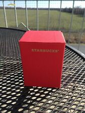 Starbucks Red Expresso Size Box ****** Box Only *****  Red ********