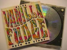 "VANILLA FUDGE ""ALIVE BACK ON STAGE"" - CD"