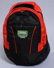 NEW JEEP BLACK BACKPACK BAG wrangler liberty compass cherokee flag