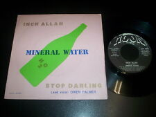 """Mineral Water  – Inch Allah / Stop Darling 7"""" Moon Records - ITALO DISCO 1982"""
