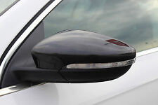 CARBON FIBRE WING MIRROR TRIM SET COVERS CAPS FOR VW VOLKSWAGEN SCIROCCO 2008+