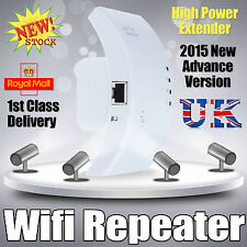 300Mbps Wireless N 802.11 AP Wifi Repeater Range Router Extender Booster UK Sale