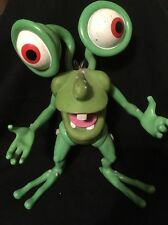 "Rare Bump in the Night Mr Bumpy 8"" Green Monster Action Figure"