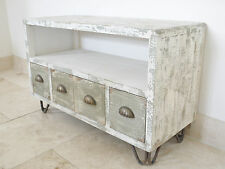 SMALL SHABBY CHIC RUSTIC TV Cabinet /urban /vintage /media store unit (4180)