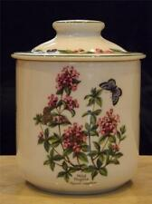 Royal Worcester Worcester Herbs Coffee Canister Wild Thyme Black Mustard