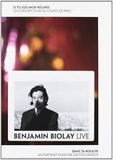 21448/BENJAMIN BIOLAY LIVE LE DOUBLE DVD NEUF SOUS BLISTER
