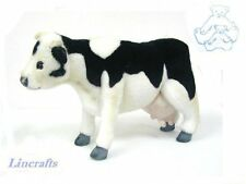 Black/White Cow Plush Soft Toy by Hansa 3463