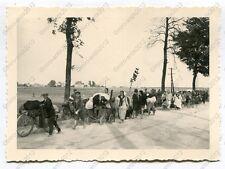Foto, Wehrmacht, flüchtende Bevölkerung aus Trzebinia, Polen, (H)0516