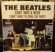 The BEATLES Eight Days a Week / I don't want to spoil the party 5371 plays NM