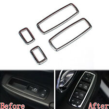 Matte ABS Window Switch Button Cover Trim For 2011-2015 Jeep Grand Cherokee 4x