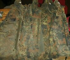 Bundle of 5 German Army flecktarn shirts, small size, ideal work shirts