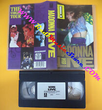 VHS MADONNA Live The virgin tour 1985 WARNER 7599 38105-3 (VM4) no mc dvd lp