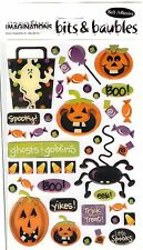 Creative Imaginations - HALLOWEEN Epoxy Scrapbooking Stickers