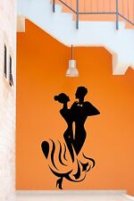 Wall Stickers Dance Dancing Music Modern Decor for Living Room z1273