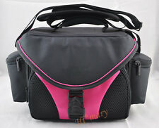 pink Camera Bag Case for Sony a99 a57 a77 a65 a37 and lens / Camcorder bag