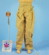 1:6 Action Figure WW2 German Africa Corps Army Pants Trousers Toy Model OK010
