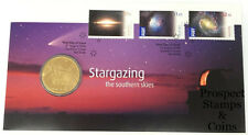 2009 Astronomy Stargazing The Southern Skies Stamp and Coin Cover PNC