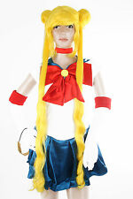 Ladieshair Cosplay Wig Perücke gelb 100cm Sailor Moon Bunny Usagi Tsukino GTC