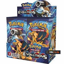 Pokemon XY-11 Evolutions Sealed Booster Box - 36 Packs - New Trading Cards 2016