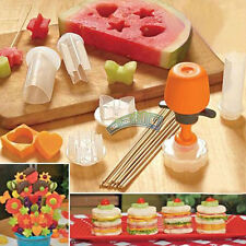 Pops Cutting Stick Party Cake Cookie Fruit Cutter Mould Mold DIY Kitchen Tools