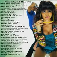 Promo Video Compilation DVD, Billboard's Top Club/Dance Chart Picks January 2013
