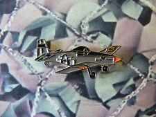 MUSTANG Aeroplane / Plane Enamel Lapel Badge