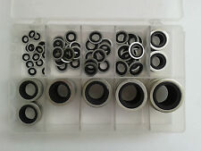 Metric Dowty Bonded Seal/Washer Self Centering Kit Selection (110 Washers)