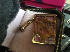 NIB Juicy Couture Charm Credit Card Case
