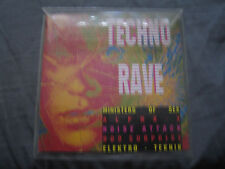 Techno Rave. CD Album. Ministers Of Sex, Alpha X, Noise Attack, 909 Suprise