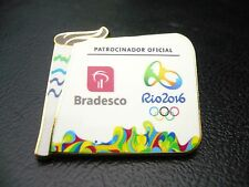 2016 Rio Olympic Pin   Bradesco - Torch