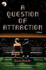 A Question of Attraction David Nicholls paperback full line number